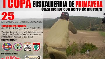 I COPA EUSKALHERRIA DE CAZA MENOR CON PERROS DE MUESTRA