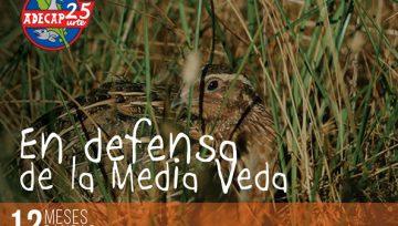 """CALENDARIO BENÉFICO ADECAP – Agosto: """"En defensa de la media veda"""""""