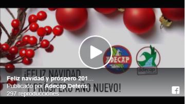 Feliz navidad y próspero 2018 (Vídeo interior)