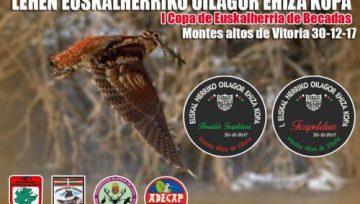 I Copa Euskalherria de Caza de Becadas
