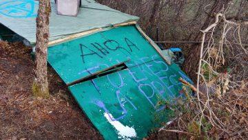 ADECAP actuará contra los responsables de los sabotajes a la caza y el mundo rural en Euskadi