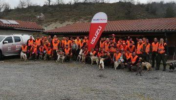 Récord de participación en la III Copa de Euskal Herria de caza menor con perro organizada por las federaciones de caza de Navarra, Alava, Bizkaia y ADECAP