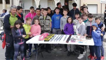 Concurso infantil de pesca de ADECAPGAZTEAK con el apoyo del Departamento de Agricultura de la Diputación Foral de Bizkaia. ¡Eskerrik asko!